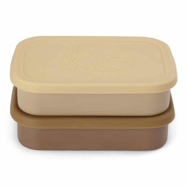 lunch box vanilla yellow